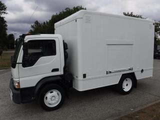Used 2008 International CF500 Cube Van 12 foot Diesel 3 Passenger for sale in Burnaby, BC