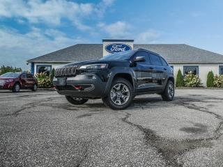 Used 2019 Jeep Cherokee Trailhawk- REMOTE START- LEATHER- NAVIGATION- BACKUP CAMERA for sale in Essex, ON