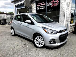 Used 2018 Chevrolet Spark LT à hayon 4 portes CVT avec 1LT CAMERAS for sale in Longueuil, QC