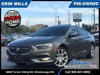 Used 2019 Buick Regal Sportback Avenir  NAVI|SUNROOF|LOW KM|LOADED for sale in Mississauga, ON