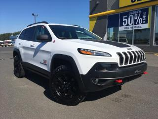 Used 2018 Jeep Cherokee Trailhawk cuir 4x4 for sale in Lévis, QC