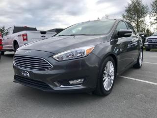 Used 2018 Ford Focus TITANIUM HAYON, TOIT, CUIR CHAUFFANT for sale in Vallée-Jonction, QC