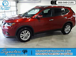 Used 2015 Nissan Rogue SV Tech AWD NAV Toit *7 Pass.* *RARE* for sale in Rivière-Du-Loup, QC