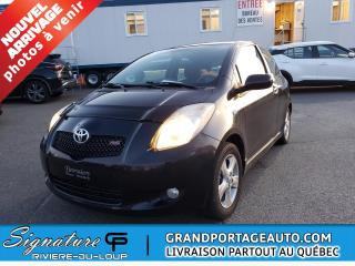 Used 2006 Toyota Yaris BAS KILO, Hayon 3 portes RS ,automatique for sale in Rivière-Du-Loup, QC