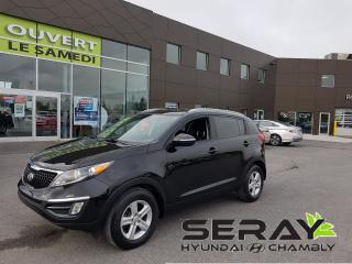 Used 2016 Kia Sportage LX, mags, a/c, bluetooth, cruise control for sale in Chambly, QC