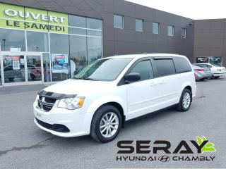 Used 2014 Dodge Grand Caravan Stow n' go, mags, dvd, dual zone a/c, 51487 km for sale in Chambly, QC