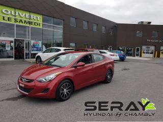 Used 2013 Hyundai Elantra Man GL, mags, bluetooth, a/c, banc chauffant for sale in Chambly, QC