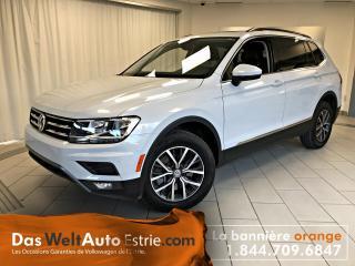 Used 2018 Volkswagen Tiguan Comfortline, Toit, Automatique, Bas Kilo for sale in Sherbrooke, QC