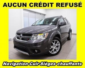 Used 2018 Dodge Journey GT AWD SIÈGES CHAUFFANTS CUIR *NAVIGATION* for sale in St-Jérôme, QC