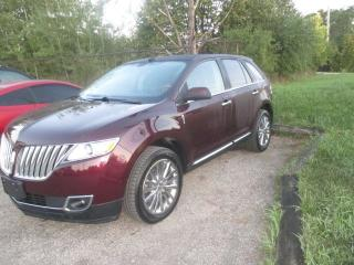 Used 2011 Lincoln MKX 4X4 for sale in Waterloo, ON