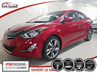 Used 2015 Hyundai Elantra GLS* AT* TOIT OUVRANT* CAMERA* SIEGES CHAUFFANTS* for sale in Québec, QC
