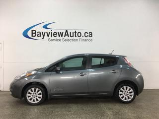 Used 2016 Nissan Leaf - AUTO! ZERO EMISSION! HTD SEATS! PWR GROUP! for sale in Belleville, ON