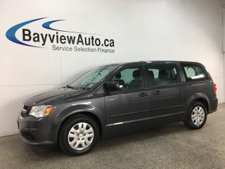 Used 2017 Dodge Grand Caravan CVP/SXT - STOW 'N GO! A/C! CRUISE! FULL PWR GROUP! for sale in Belleville, ON