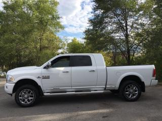 Used 2018 RAM 3500 Longhorn - LIMITED! 4X4! 1 TON! LOADED! for sale in Belleville, ON