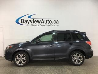 Used 2017 Subaru Forester 2.5i Touring - AWD! PANOROOF! HTD LEATHER! PWR LIFTGATE! + MORE! for sale in Belleville, ON