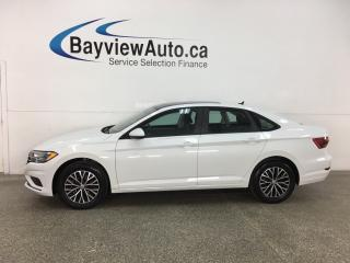 Used 2019 Volkswagen Jetta 1.4 TSI Highline - AUTO! HTD LEATHER! PANOROOF! ALLOYS! for sale in Belleville, ON