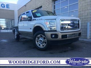 Used 2011 Ford F-350 Lariat 6.7L, KING RANCH, NAVIGATION, GOOSE NECK TO DECK, SUNROOF. for sale in Calgary, AB