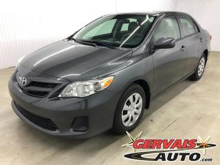 Used 2013 Toyota Corolla A/C SIÈGES CHAUFFANTS for sale in Trois-Rivières, QC