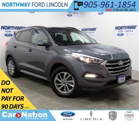 Used 2018 Hyundai Tucson SE | AWD | HTD LEATHER | BACKUP CAM | PANOROOF | for sale in Brantford, ON