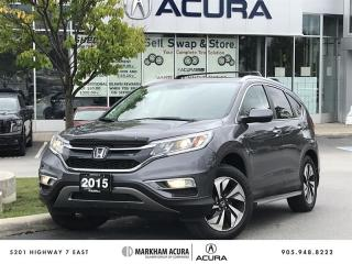 Used 2015 Honda CR-V Touring AWD Navi, Backup Cam, Power Liftgate for sale in Markham, ON