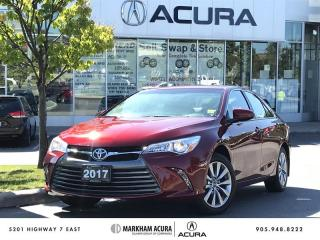 Used 2017 Toyota Camry 4-Door Sedan XLE 6A Navi, Moonroof, Blind Spot Info for sale in Markham, ON