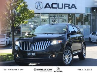 Used 2013 Lincoln MKX 4D Utility AWD Navi, Vista Roof, THX Audio for sale in Markham, ON