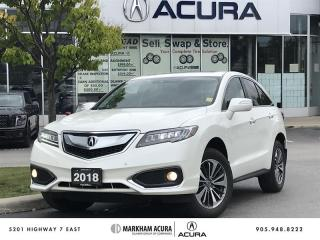 Used 2018 Acura RDX Elite at AWD, Navi, Parking Sensors for sale in Markham, ON