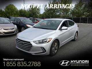 Used 2017 Hyundai Elantra GL + GARANTIE + MAGS + CAMERA + WOW !! for sale in Drummondville, QC