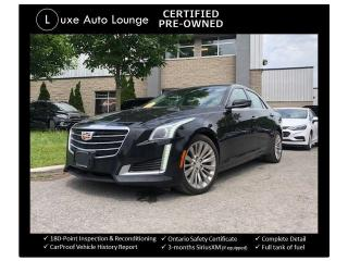 Used 2015 Cadillac CTS Luxury AWD - NAV, BOSE AUDIO, PANORAMIC SUNROOF! for sale in Orleans, ON