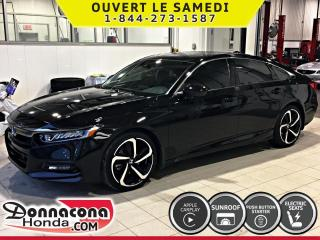 Used 2019 Honda Accord Sport 2.0 TURBO *SPECIALE DEMONSTRATEUR* for sale in Donnacona, QC