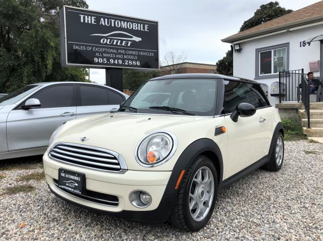 2008 MINI Cooper LOW KMS LEATHER PANO SUNROOF BLUETOOTH NO ACCIDENT