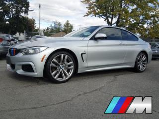 Used 2014 BMW 4 Series 435i xDrive M SPORT NAVIGATION CAMERA 360 HUD MAGS for sale in St-Eustache, QC