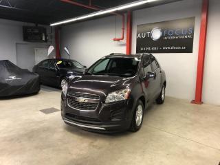 Used 2014 Chevrolet Trax 1LT, CAMERA DE RECUL, SENSORS, AUTO., BT for sale in Montréal, QC