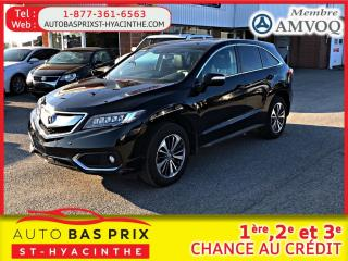 Used 2016 Acura RDX Groupe élite for sale in St-Hyacinthe, QC