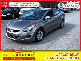 Used 2013 Hyundai Elantra L for sale in St-Hyacinthe, QC