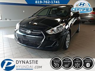 Used 2016 Hyundai Accent GL for sale in Rouyn-Noranda, QC