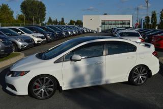 Used 2015 Honda Civic Si ***impécable, kilométrage inférieur à for sale in Longueuil, QC