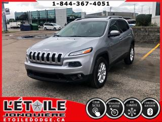 Used 2014 Jeep Cherokee NORTH 4X4 V6, DEMARREUR A DISTANCE, CAM for sale in Jonquière, QC