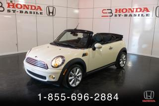 Used 2011 MINI Cooper MINI COOPER DECAPOTABLE** CECI EST UN 20 for sale in St-Basile-le-Grand, QC