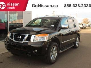 Used 2013 Nissan Armada SUNROOF BLUETOOTH HEATED SEATS for sale in Edmonton, AB