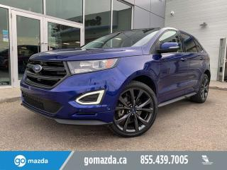 Used 2015 Ford Edge SPORT AWD FULL LOAD FORD BLUE FLAWLESS for sale in Edmonton, AB
