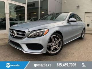 Used 2016 Mercedes-Benz C-Class C 300 4MATIC LEATHER SUNROOF NAV BRAND NEW TIRES for sale in Edmonton, AB