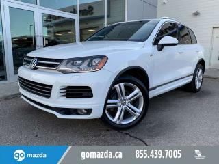Used 2014 Volkswagen Touareg EXECLINE R LINE FULL LOAD GREAT CONDITION for sale in Edmonton, AB