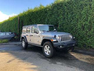 Used 2020 Jeep Wrangler UNLIMITED SPORT for sale in Surrey, BC