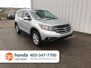 Used 2014 Honda CR-V EX-L AWD Remote Start Sunroof Back Up Camera for sale in Red Deer, AB