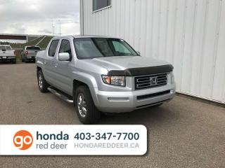 Used 2006 Honda Ridgeline EX-L 4x4 Sunroof Remote Start for sale in Red Deer, AB