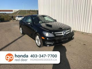 Used 2013 Mercedes-Benz C-Class C250 Sunroof Heated Seats for sale in Red Deer, AB
