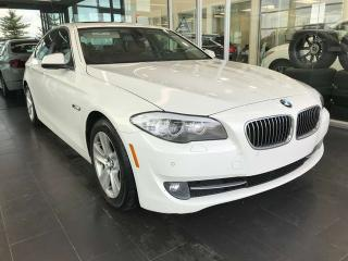 Used 2011 BMW 5 Series 528i, SUNROOF, NAVI, BACK-UP CAMERA KEYLESS IGNITION for sale in Edmonton, AB