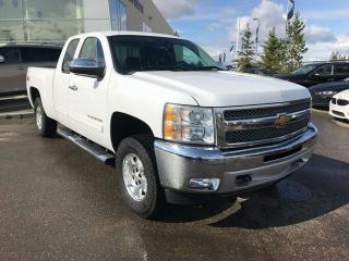 Used 2013 Chevrolet Silverado 1500 4x4 EXTENDED CAP 143.5IN LT, ACCIDENT FREE, POWER SEATS, CRUISE CONTROL, BLUETOOTH for sale in Edmonton, AB