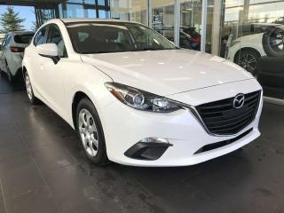 Used 2016 Mazda MAZDA3 GX SPORT, ACCIDENT FREE, NAVI, BACK-UP CAMERA, KEYLESS IGNITION for sale in Edmonton, AB